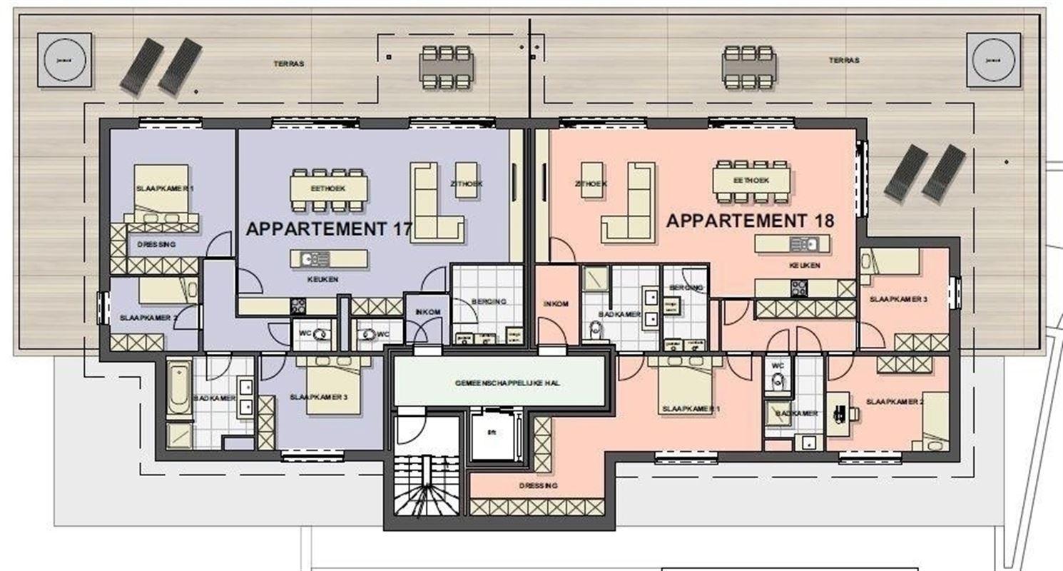 Foto 14 : Appartement te 3680 MAASEIK (België) - Prijs € 217.446