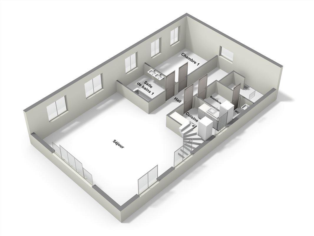 Image 11 : Appartement à 5377 BAILLONVILLE (Belgique) - Prix 249.000 €