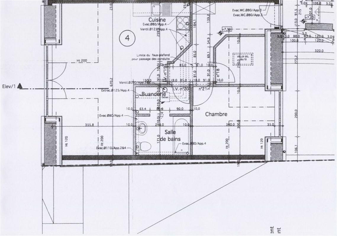Image 8 : Appartement à 6900 MARCHE-EN-FAMENNE (Belgique) - Prix 460 €