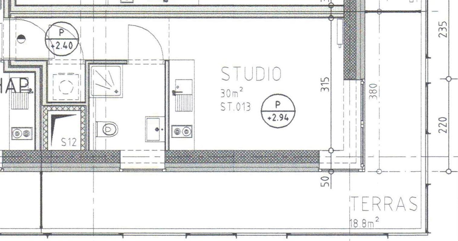 Foto 10 : Studio te 2060 ANTWERPEN (België) - Prijs € 124.000