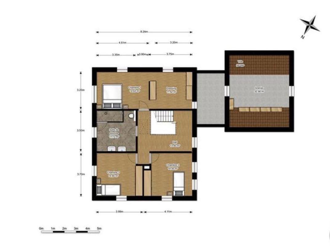 Image 38 : Villa à 5620 ROSÉE (Belgique) - Prix 450.000 €