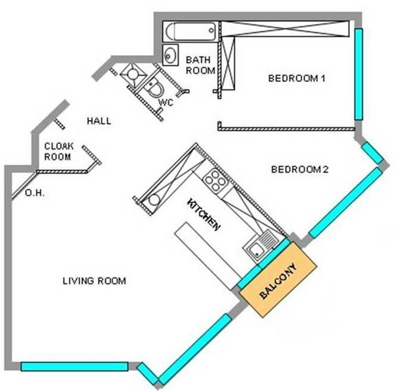 Image 8 : Appartement à 1050 IXELLES (Belgique) - Prix 325.000 €