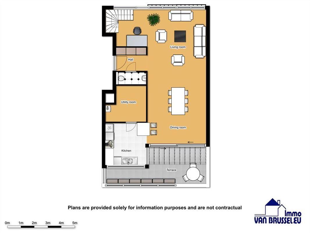 Image 2 : Appartement à 1180 UCCLE (Belgique) - Prix 435.000 €