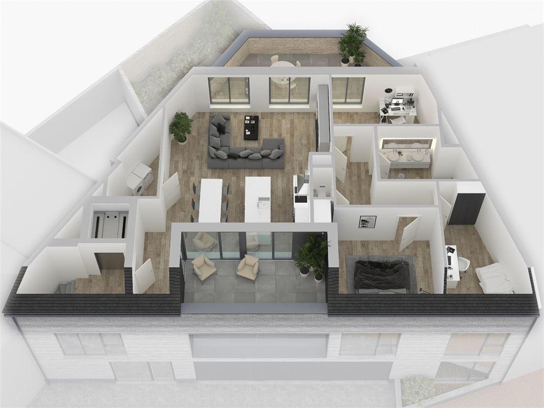 Uniek nieuwbouwproject met drie appartementen te Keerbergen. te koop te KEERBERGEN (3140)